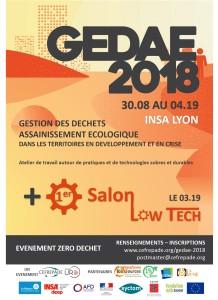 GEDAE 2018 Affiche