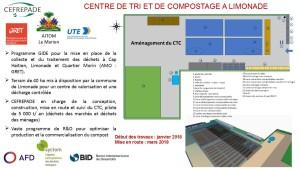Centre de tri et de compostage à Limonade
