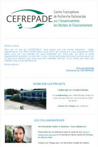 Newsletter CEFREPADE n°1 - oct 2017 (extrait)