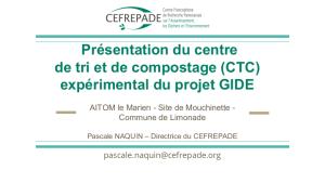 Presentation du CTC AITOM